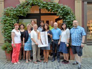 Gruppenfoto Steuerungsgruppe Fairtradetown Regensburg