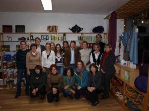 Gruppenfoto Steuerungsgruppe Fairtrade Town Regensburg 2012